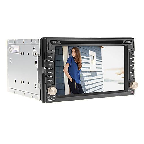 6.2inch 2 Дин В-Dash Универсальный DVD-плеер автомобиля для Nissan с GPS, IPOD, RDS, BT, Сенсорный экран Lightinthebox 7390.000