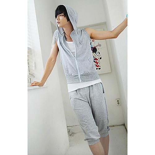 Мужская Pure Color Толстовка костюм Lightinthebox 1368.000