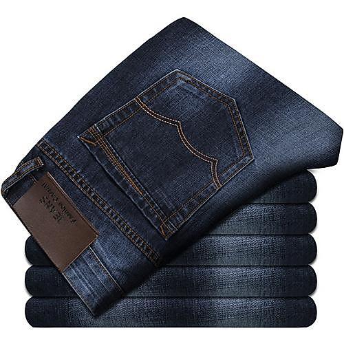 Мужская Мода Классический мытья Талия Джинсы Lightinthebox 1396.000