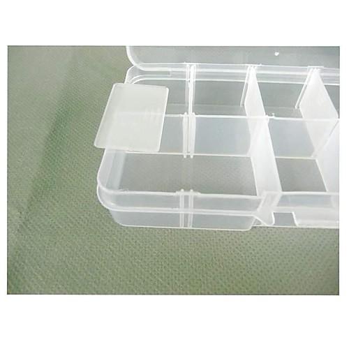 Пластиковые 10 отсеков прозрачный корпус хранения Lightinthebox 300.000