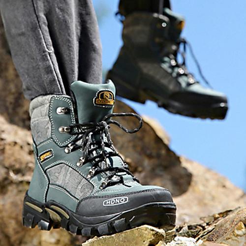Кожаные мужские плоский каблук лодыжки Combat сапоги с шнуровке (больше цветов) Lightinthebox 2397.000