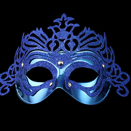 Венеция Королева мерцающий синий Женская Карнавал Маскарад партия маска Lightinthebox 76.000