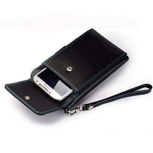 Multi-Function Мужская Топ Натуральная кожа Портмоне телефон владельца Lightinthebox 2405.000
