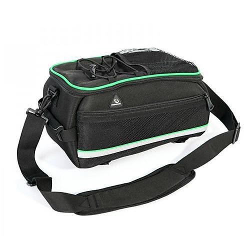 Велоспорт EVA 600D полиэстер противоударный большой емкости Не легко Искажение черный Велосипед сиденье сумка Срок сумка Lightinthebox 2148.000