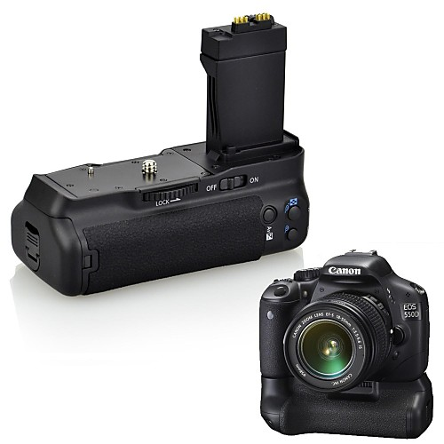DSTE BG-E8 Аккумулятор ручка для Canon EOS 550D 600D 650D 700D/Rebel t2i T3i T4i T5i / Kiss X4 X5 X6i X7i зеркальных камер Lightinthebox 1847.000