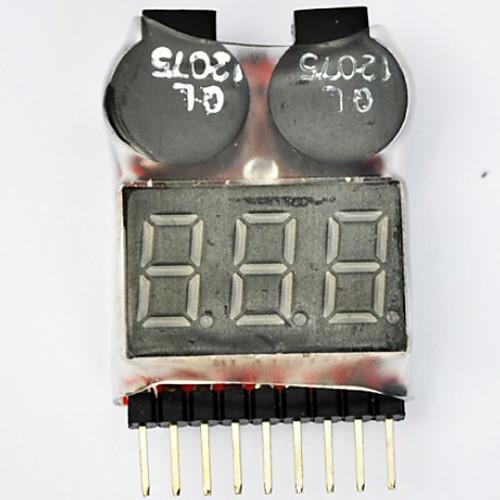 Липо батареи тестер напряжения низкого напряжения Звуковой сигнал Lightinthebox 429.000