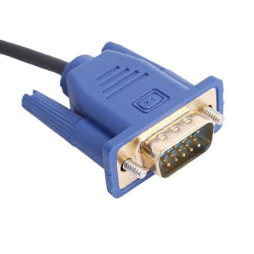 Мужчина HDMI к VGA Мужской кабель для домашнего кинотеатра (Поддерживаемые устройства) - 1,8 м Lightinthebox 171.000