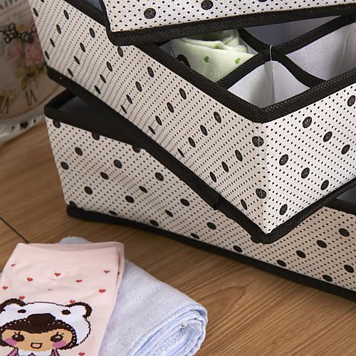 Non-Woven Storage Box Set Без Clover (4 шт) Lightinthebox 1030.000