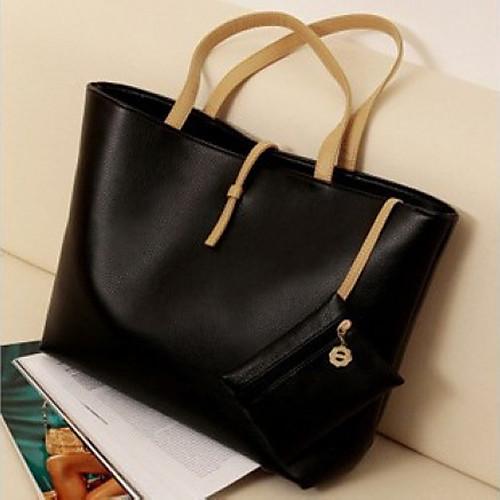 Gmn Женская Классическая мода одно плечо сумка (черный) Lightinthebox 343.000