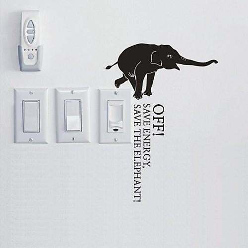 Животные Слон стикер Switch стены стикеры Lightinthebox 429.000