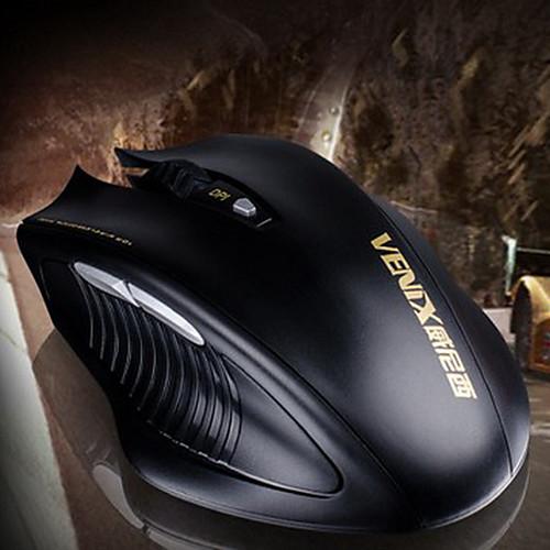 Venix G3012 А.А. 2.4G беспроводной Mute оптическая мышь Gaming Lightinthebox 300.000