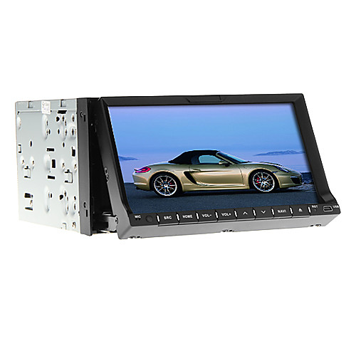 7-дюймовый 2Din TFT-экран В-Dash DVD-плеер с GPS, BT, FM, Ipod, телевизор Lightinthebox 7734.000