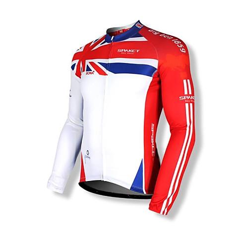 SPAKCT S14C07 Big Ben 100% полиэстер Велоспорт Длинные рукава Топы Lightinthebox 2148.000