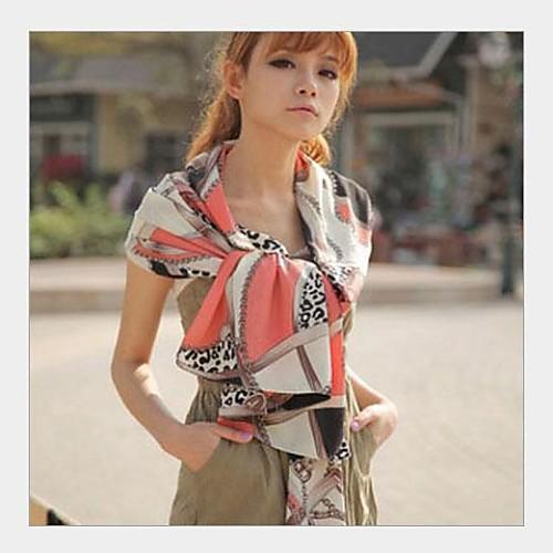 Японский Сеть Восстановление древних путей LeopardPrint шифон шарфы Lightinthebox 472.000