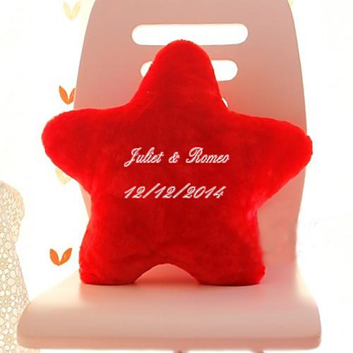 Персонализированные форме звезды рука Подушка (больше цветов) Lightinthebox 591.000