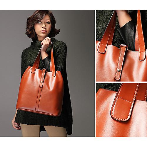 Gmn Женская Простой Винтаж одно плечо сумка (коричневый) Lightinthebox 858.000