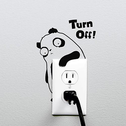 Животные Panda Перейти стикер стены стикеры Lightinthebox 429.000