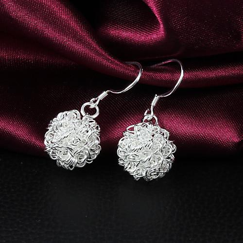 Высокое качество Мода Rhinestone Серебристая сплава Женская серьги падения (1 пара) Lightinthebox 64.000