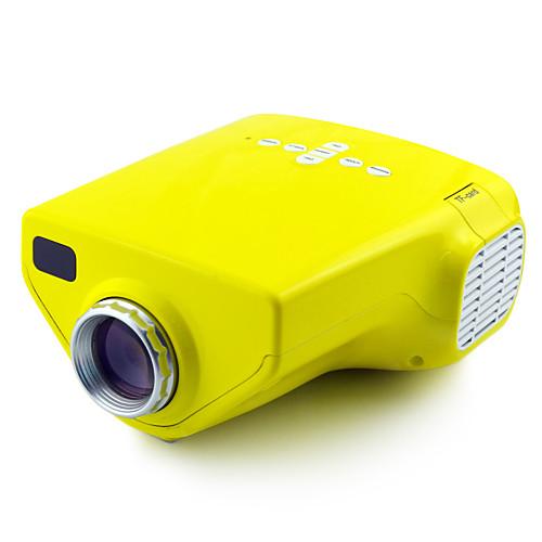 мини домой HD супер яркий технологии привело раннего детства проектор (разные цвета) Lightinthebox 2835.000