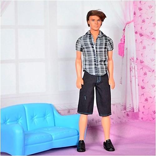 Барби Принц Повседневный стиль с коротким рукавом Костюм Lightinthebox 429.000