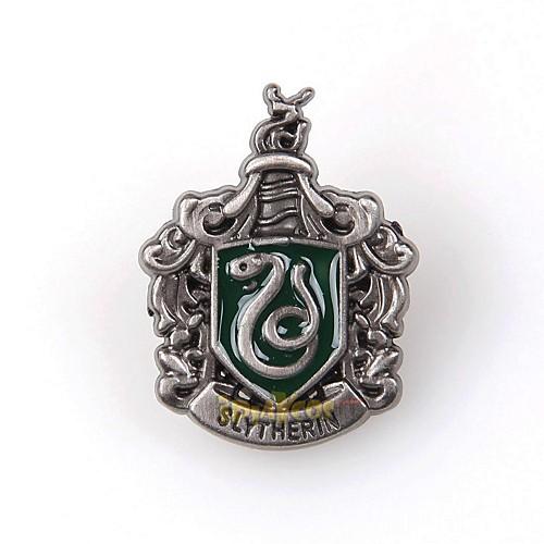 Мужские и женские Серебряная Гарри Поттер Слизерина Сплав Брошь Lightinthebox 558.000