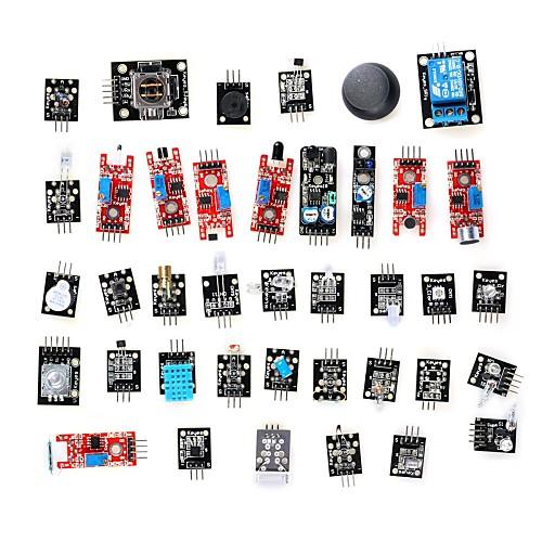 поделки 37-в-1 датчик модуль комплект для Arduino (работает с официальными плат) Lightinthebox 3050.000