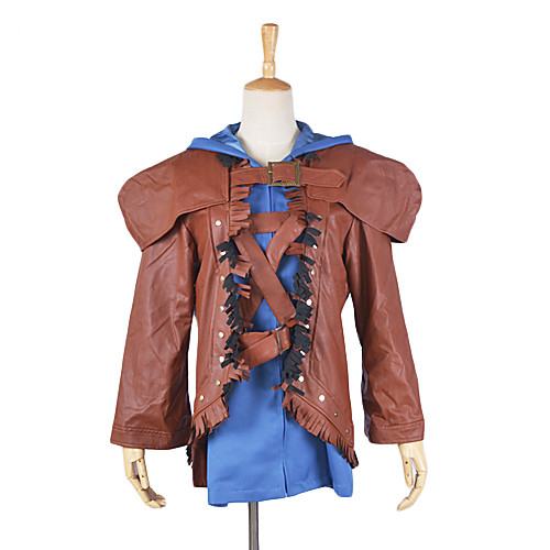 Лига Легенд Ezreal Браун Имитация кожаной куртке Lightinthebox 3437.000