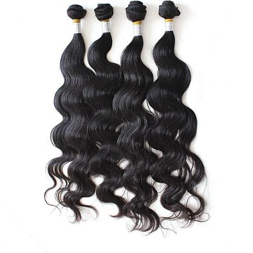 5А Бразильский Волосы на теле Wave 100% Необработанные естественный цвет 24inches Lightinthebox 5199.000