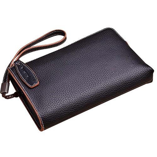 Мужская Бизнес формальный стиль Вечерние Топ Натуральная кожа сцепления сумки Lightinthebox 2577.000