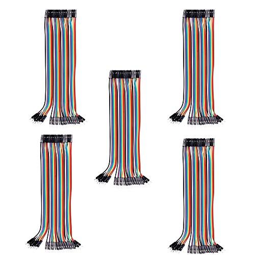 20 см от мужчины к женщине Дюпон Макет перемычек для Arduino (40Pcs/Pack) (5Packs) Lightinthebox 386.000