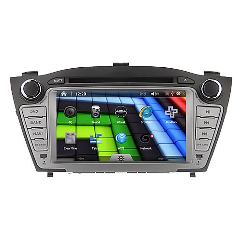 7Inch 2 Дин В-Dash DVD-плеер автомобиля для Hyundai ix35 2009-2013 с GPS, BT, IPOD, RDS, Сенсорный экран Lightinthebox 12890.000