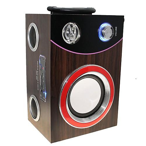 DEKKO DK-002 Портативный USB аккумуляторная мультимедийный плеер со спикером / SD / USB - (кофе) Lightinthebox 1662.000
