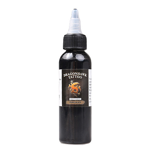 Дракондор чернила татуировки 1-Pack Черный Цвет 2 унции бутылки Цвет чернил Lightinthebox 644.000