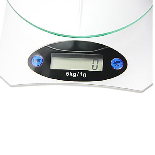 5 кг х 1 г KE-5 стеклянный поднос ЖК Кухня цифровые весы с автоматическим выкл Lightinthebox 515.000
