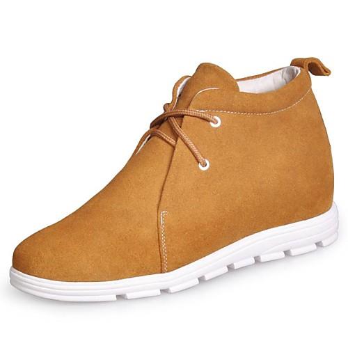 Кожа низком каблуке Комфорт Мода ботинки тапки (больше цветов) Lightinthebox 3007.000