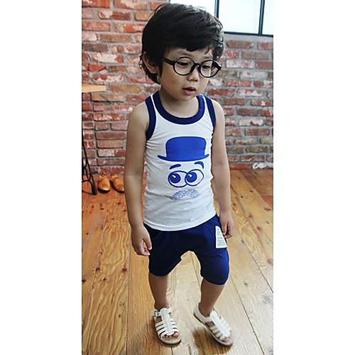 Мальчика Мода Прекрасный мультфильм рукавов Одежда наборы Lightinthebox 451.000