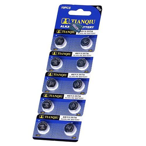 TianQiu HW01 AG13 1,55 щелочные батареи клетки кнопки Lightinthebox 85.000