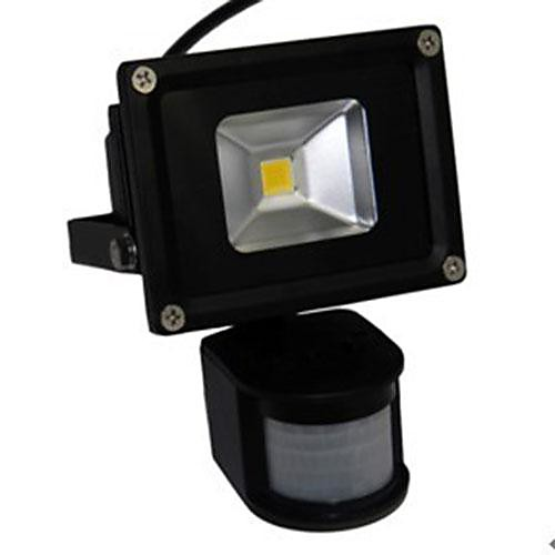 LED 10W Датчик движения Прожектор Черный Shell Алюминий 220 Lightinthebox 2148.000