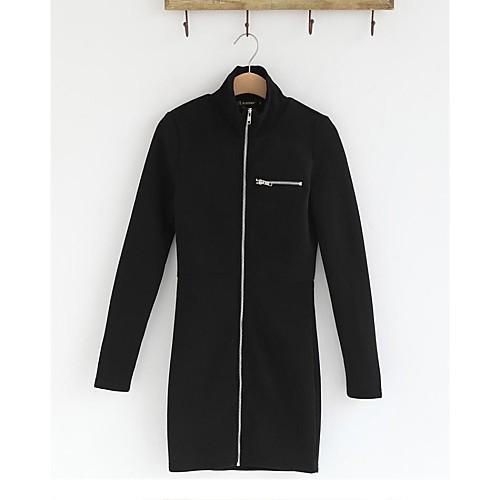 Женская мода Slim черный кофты Lightinthebox 1172.000