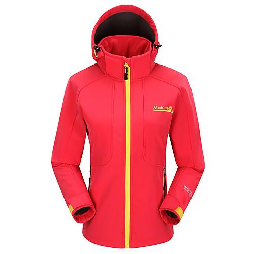 Макино женщин ветрозащитный изоляцией мягкая оболочка куртка Lightinthebox 2148.000