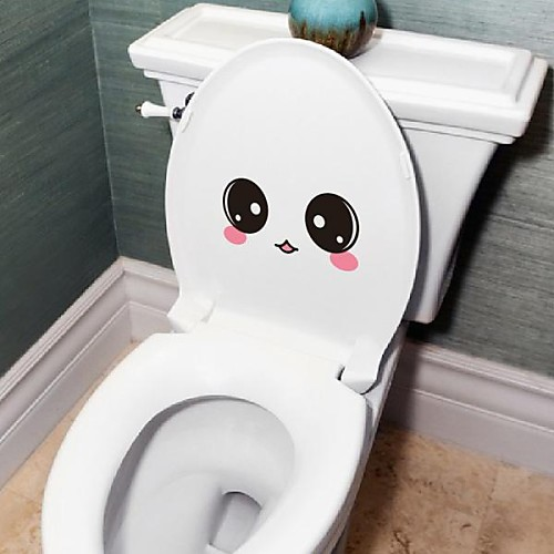 Люди Симпатичные лица Туалет Добавлено стены стикеры Lightinthebox 558.000