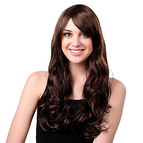 Новый стиль Синтетические сторону взрыва Женская сексуальность парик длинные волнистые Lightinthebox 730.000