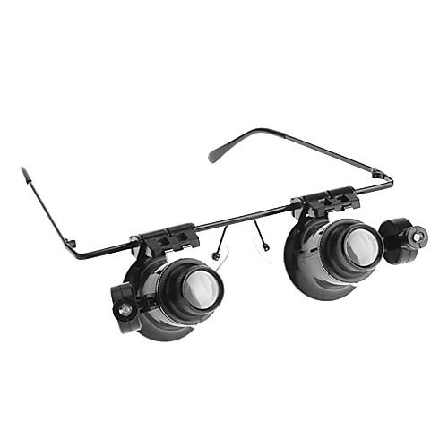 Очки Тип 20X микроскоп / лупа с белой светодиодной подсветки Lightinthebox 300.000