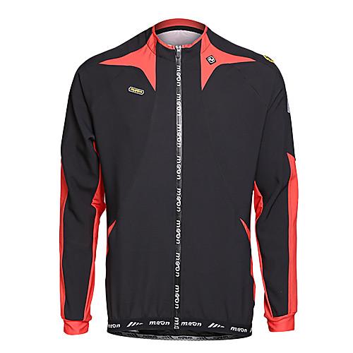 ЛУНА Велоспорт Осень и Зима руно с длинным рукавом велосипедов Джерси с силиконовой прокладкой Lightinthebox 2577.000