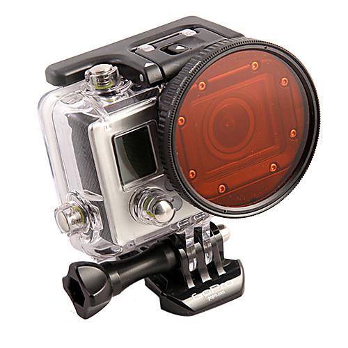 2014 Professional Профессиональная погружения корпуса 58 мм объектива переходное  красный фильтр для GoPro Hero3 Lightinthebox 1374.000