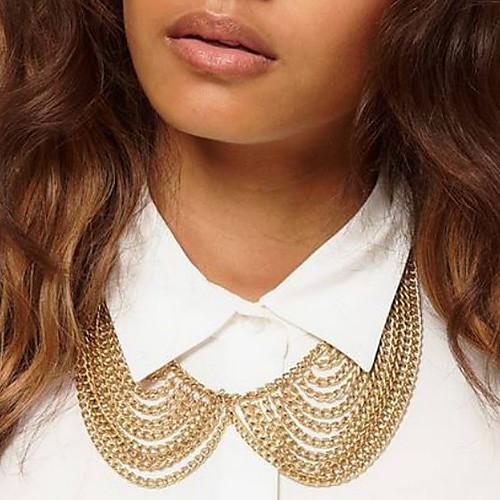 Canlyn Женская мода Многослойные цепи кисточкой ожерелье Lightinthebox 85.000