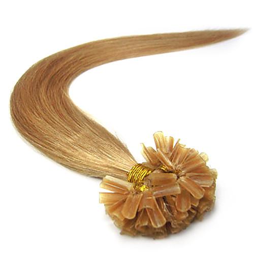 Реми 18INCH ногтей Кератин / U слияние Tipped Прямые Fusion Наращивание волос больше света Цвета 100s/pake 0.5g / сек Lightinthebox 2148.000
