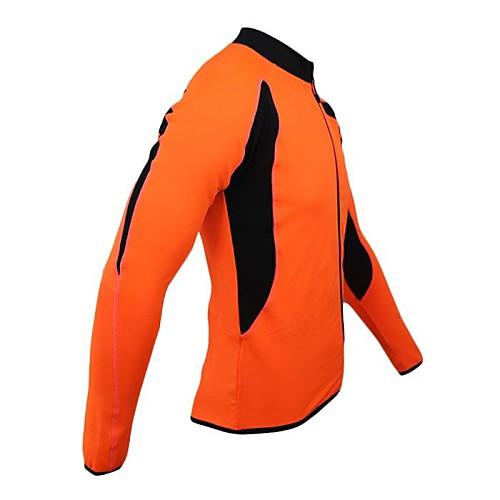 Arsuxeo Мужская Руна Зимняя Термальная велосипед Велоспорт Джерси Открытый Спортивные пальто Lightinthebox 1288.000