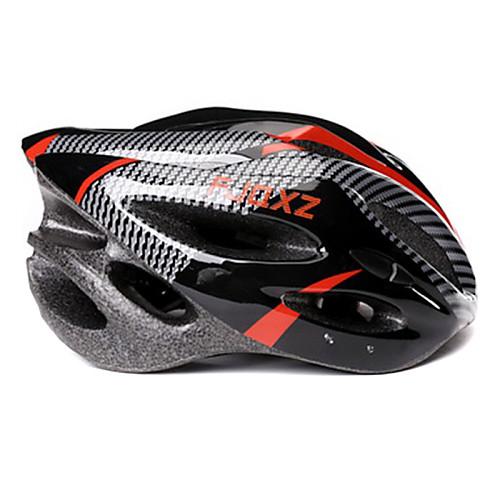 FJQXZ Мужская PC  EPS 21 Vents черный  красный Ajustable велосипедный шлем Lightinthebox 730.000