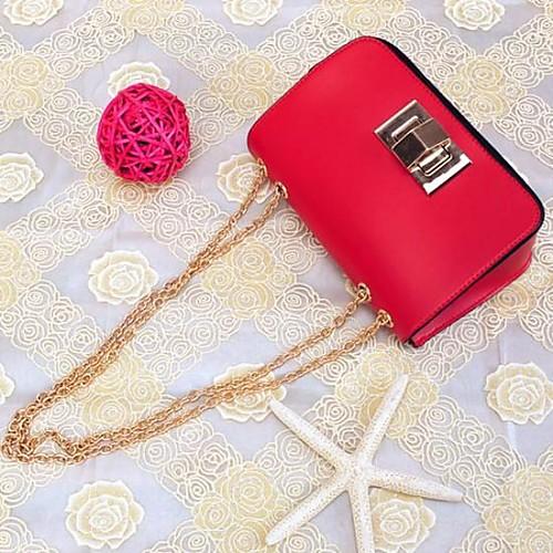 Женская цвета конфеты способа цепи клатчи Сумки Lightinthebox 1245.000